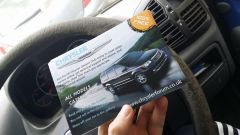 Flyer in my hand :)