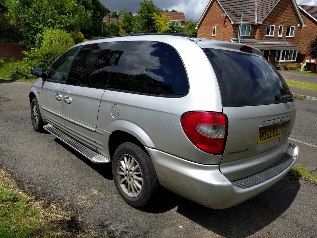 For Sale  Grand Voyager 2002 3 3l Auto Limited